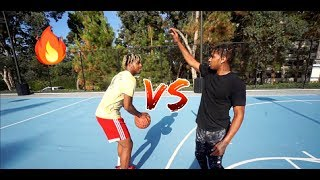 1v1 BASKETBALL AGAINST DDG!! (EXPOSED)