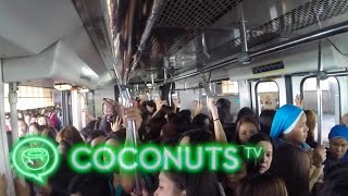 GoPro: Commuting In Metro Manila's Horrific Traffic Mess  | Coconuts TV