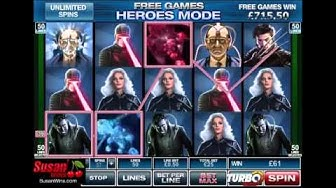 Amazing £1,598 Win - Free Games Bonus - X-Men Online Slots Review