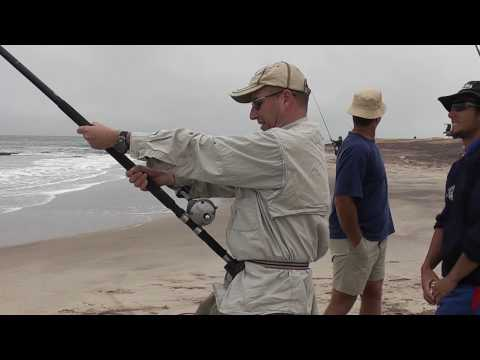 Dutchanglers - Copper shark fishing Namibia part 1