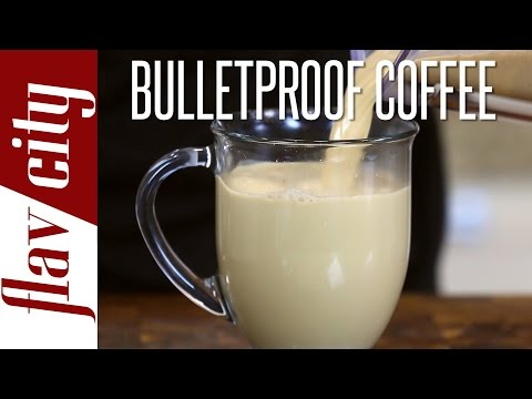 Bulletproof Coffee - Butter Coffee Recipe - Coffee with butter