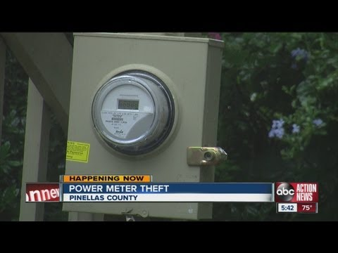 Seven charged in electricity theft