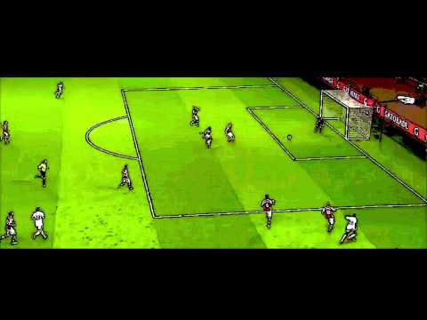 Bafetimbi Gomis Goal vs Arsenal • Arsenal 0-1 Swansea • Cartoon Version
