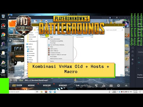 Kombinasi Vnhax Old + Hosts + Macro