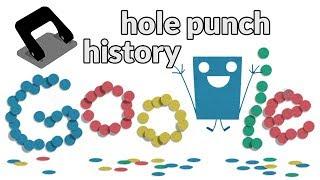 hole punch history - Historia de la perforadora de papel - lyukasztógép - история дырокола