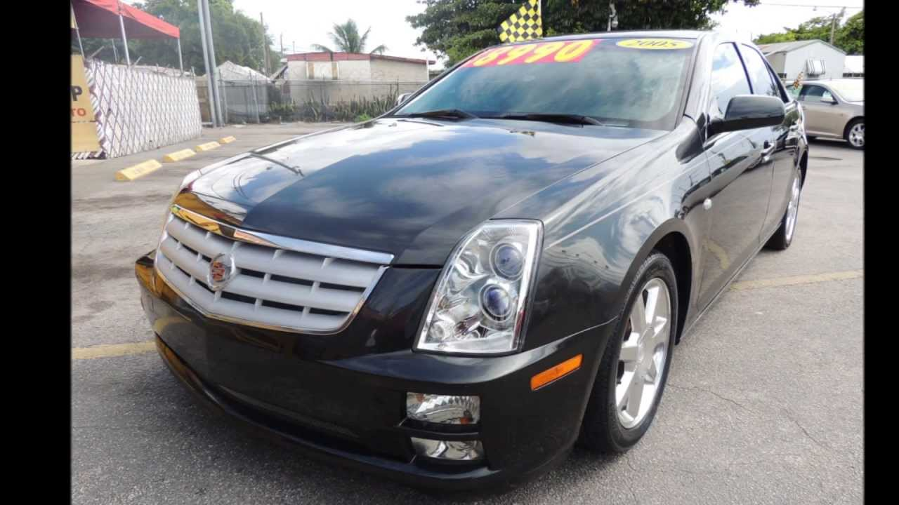 2005 cadillac sts coral group miami used cars for sale youtube. Black Bedroom Furniture Sets. Home Design Ideas
