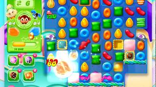 Candy Crush Jelly Saga Level 1204 *** 1 booster