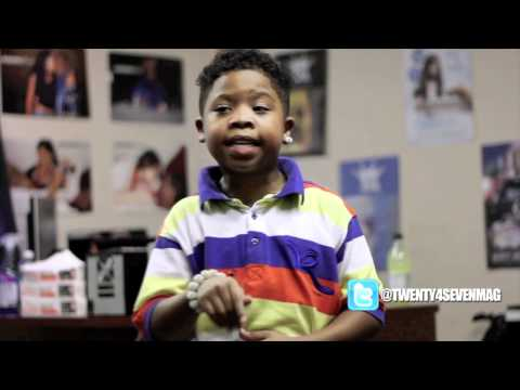 Lil P-Nut checking in with Twenty4Seven Magazine