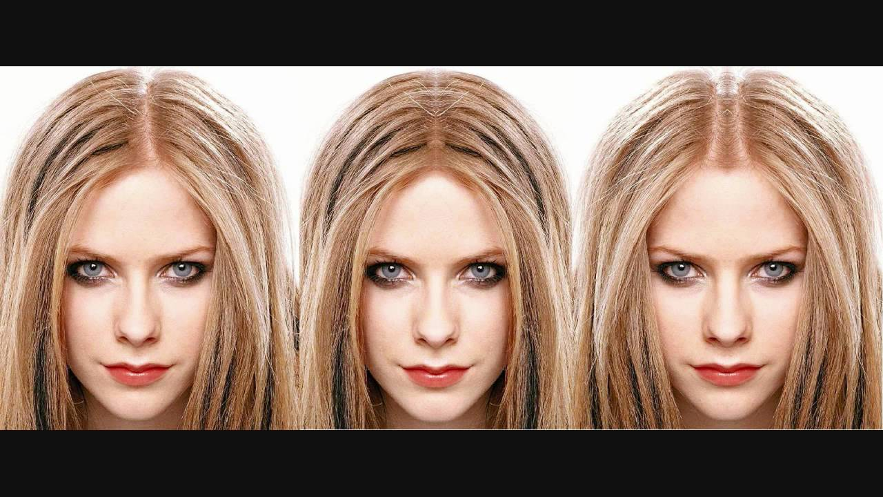 Avril Lavigne Facial Symmetry Youtube