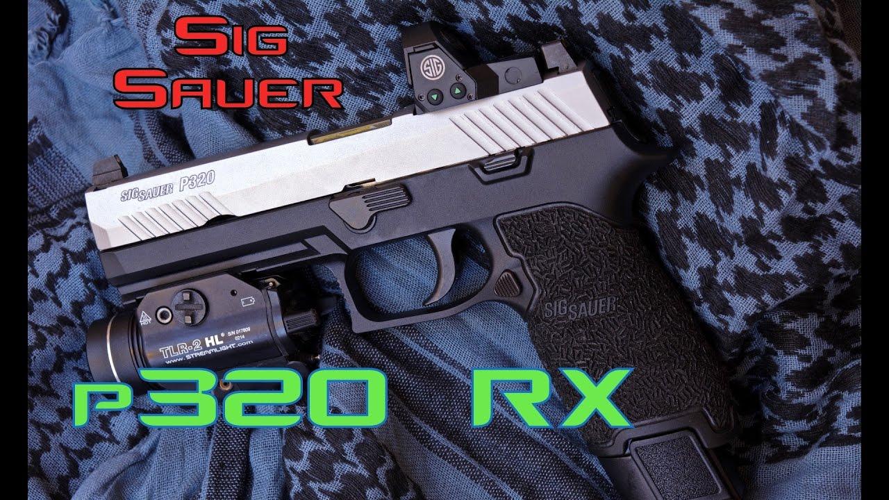 Sig P320 RX - Romeo 1 - Custom - Cabelas Exclusive