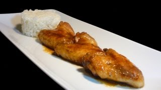 Alitas de pollo en salsa de soja - Easy Chicken Wings In Soy Sauce