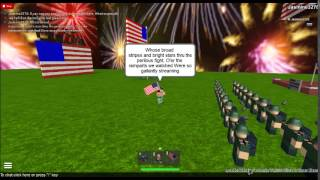 Star Spangled Banner (ROBLOX version)