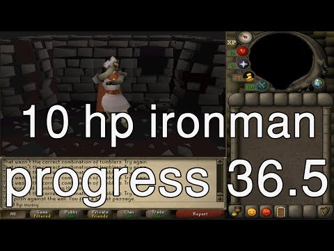 [OSRS] 10HP IM Progress 36.5: More gangsters (60 rng and 65 def)