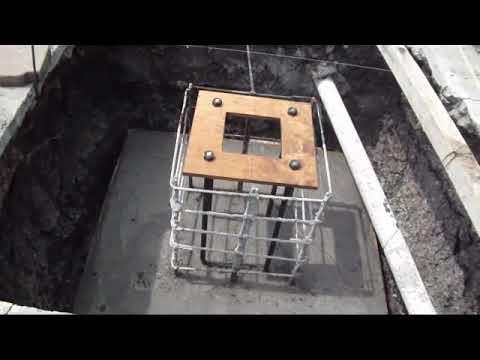 Zapatas De Concreto Armado Con Anclas Para Columnas Youtube