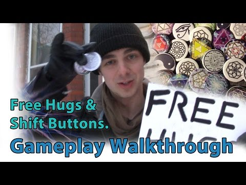 Free Hugs & Shift Buttons Tutorial - Gameplay Walkthrough