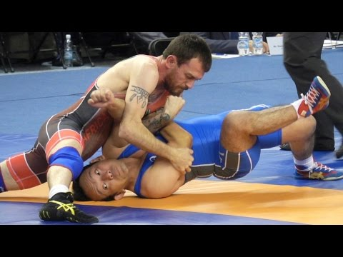Freestyle Wrestling PIN - South Africa vs Japan