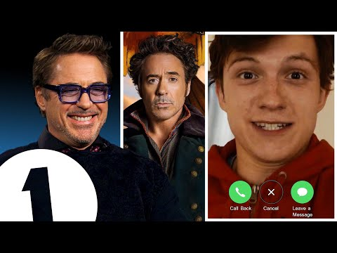 """Are You In A Pub?!"" Robert Downey Jr. On Welsh Accents, Dolittle And Facetiming Tom Holland."