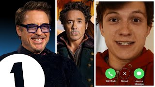 'Are you in a pub?!' Robert Downey Jr. on Welsh accents, Dolittle and Facetiming Tom Holland.