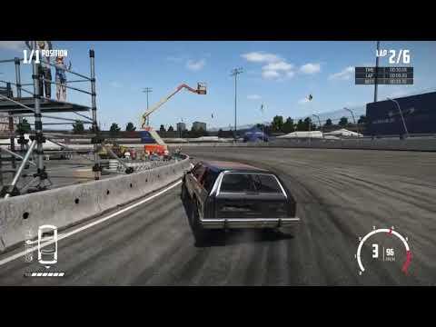 Wreckfest  Speed Run 1 lap Big Valley Speedway Inner Oval