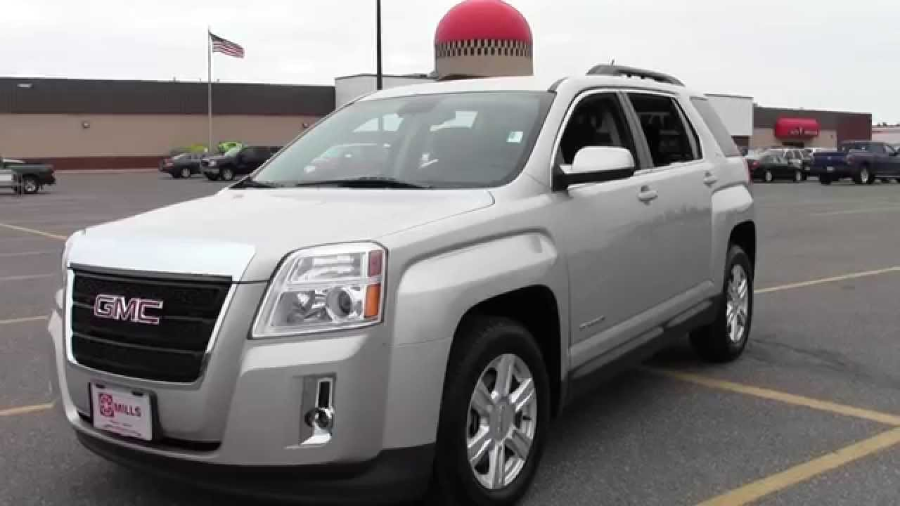2015 gmc terrain awd sle 2 2u150038 youtube. Black Bedroom Furniture Sets. Home Design Ideas