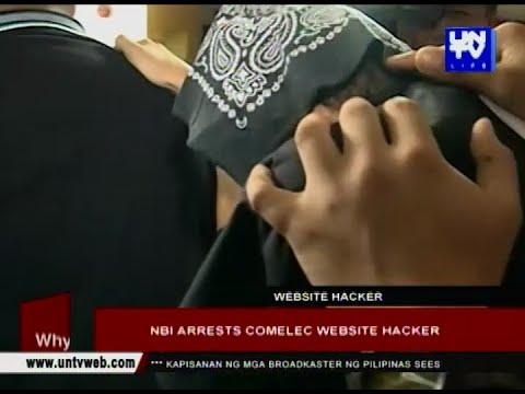 NBI arrests COMELEC website hacker