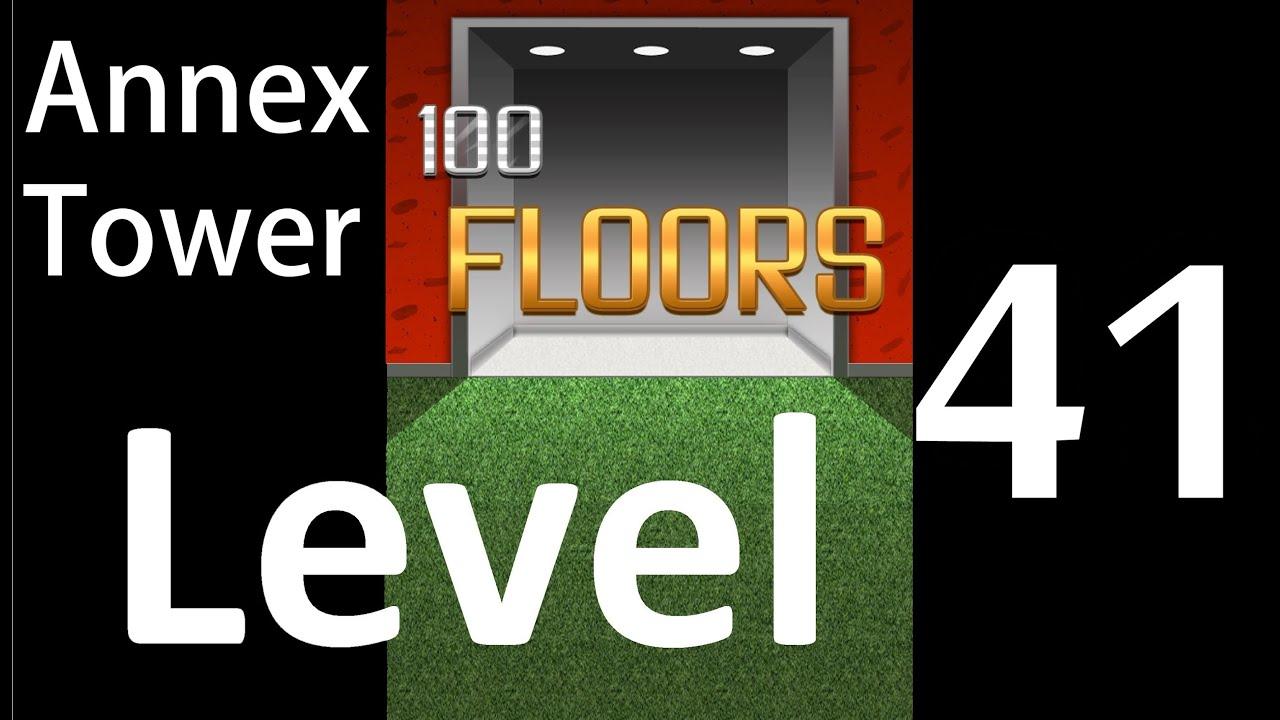 100 Floors Level 41 Annex Tower Solution Walkthrough Youtube