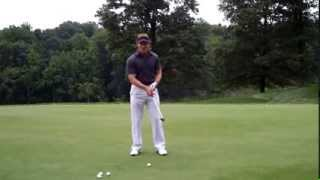 Jeff Ritter   Short Game Trajectory   Throw vs Drag