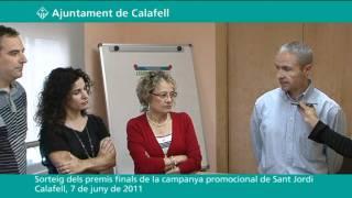 Sorteig dels premis finals de la campanya promocional de Sant Jordi