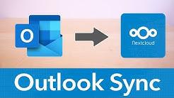 Microsoft Outlook mit Nextcloud synchronisieren  - Kontakte & Kalender