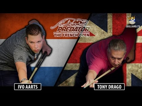The French Open by Predator - Ivo Aarts  vs Tony Drago