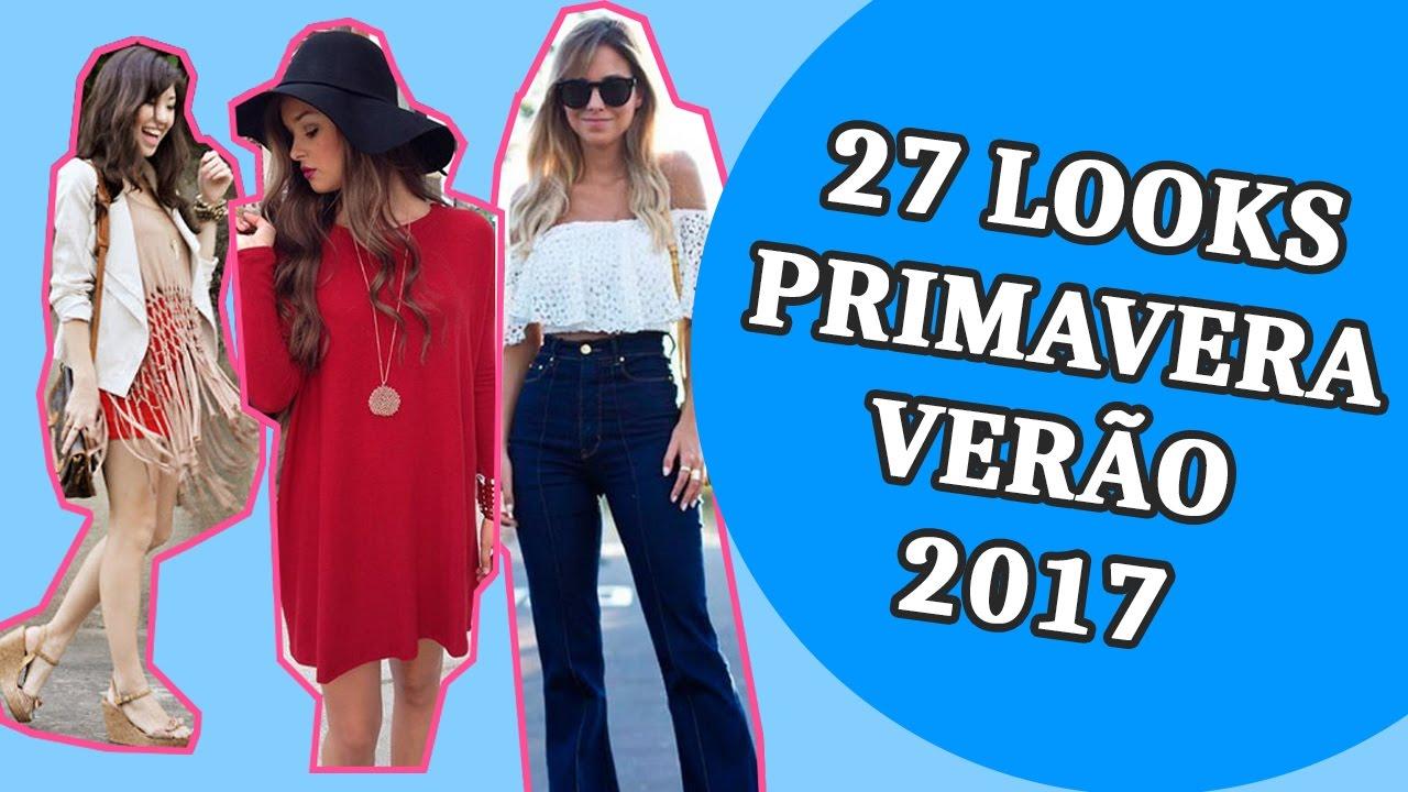 9abc8488f 💜 Roupas da Moda Primavera/Verão 2017 + 27 Looks para se Inspirar - YouTube