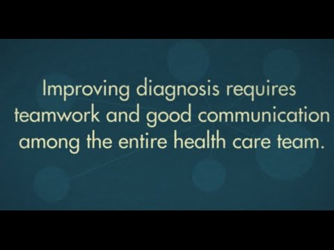Improving Diagnosis in Health Care : Health and Medicine