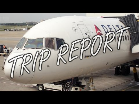 Delta Air Lines Classic Boeing 757-200 Trip Report / Flight Review [ATL to FLL]