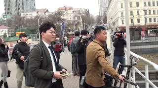 Ким Чен Ын во Владивостоке 24.4.19 ч.7  Дмитриев Дмитрий