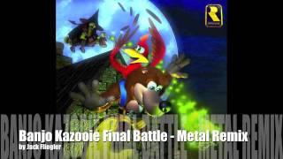 Banjo Kazooie Final Battle - Metal Guitar Cover