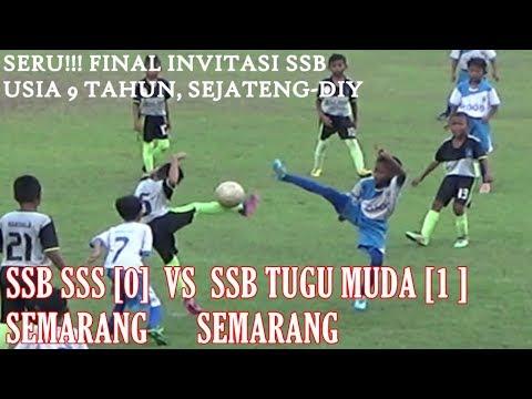 SSB SSS Semarang (0)  VS SSB Tugu Muda Semarang (1) , Final U-9 tahun seJateng-Diy