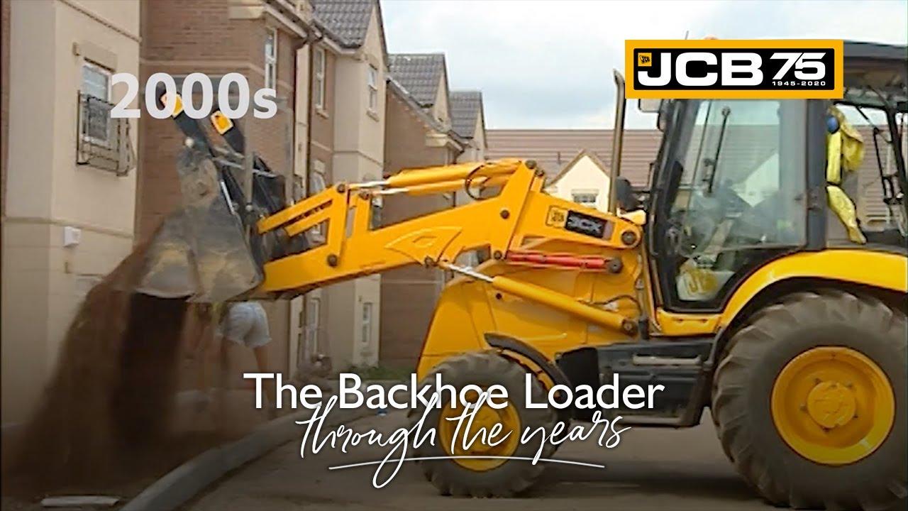 History of the JCB Backhoe Loader - 2000s