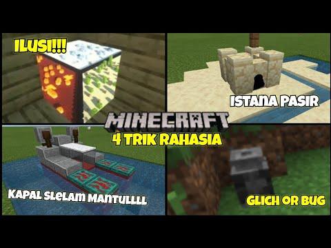 4 Rahasia yang mungkin kalian blm ketahui di MinecraftPE! NoMods! NoHoax! - 동영상
