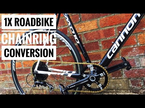 1X Single Chainring Road Bike Conversion
