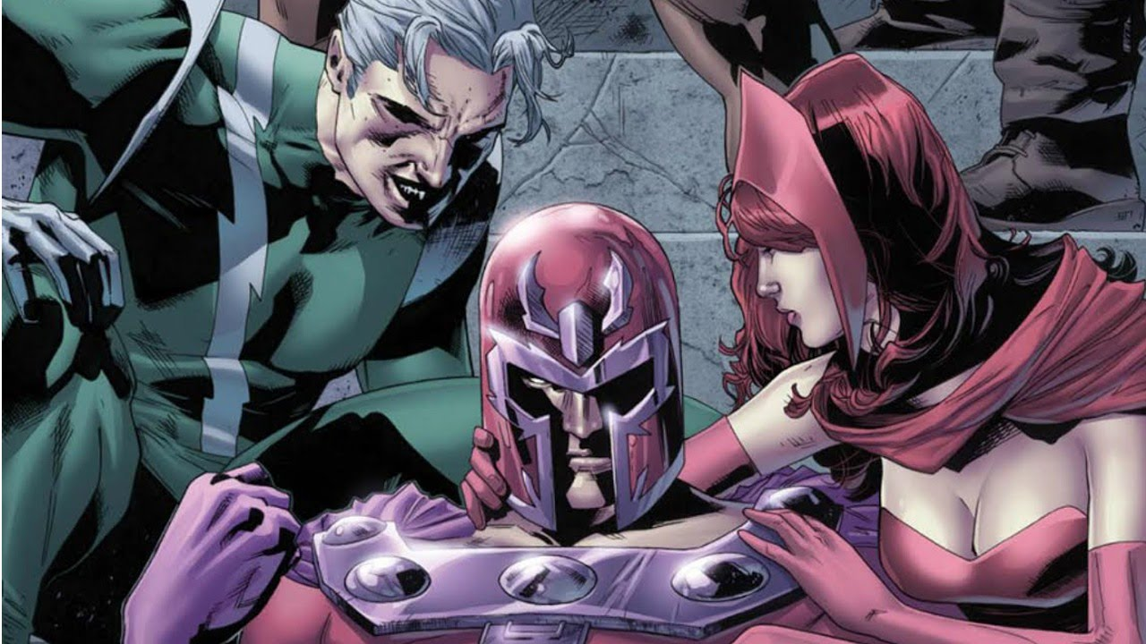 Quicksilver and scarlet witch marvel