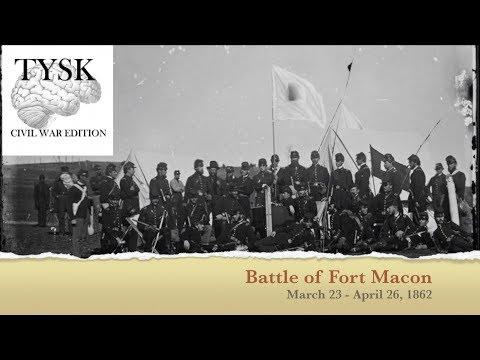 1862-12 Battle Of Fort Macon