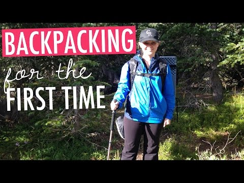 Backpacking for the First Time Vlog
