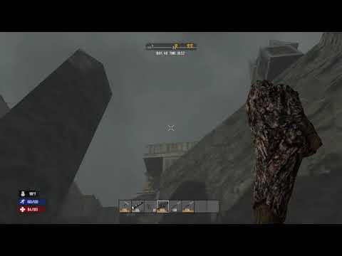 7 Days to Die Epic Mining Disaster - Base Destroyed