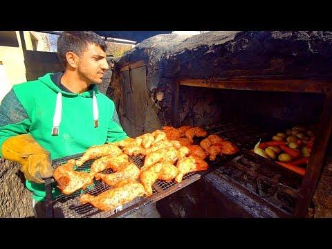 Palestinian Food - RARE 'Zarb' BBQ Arabic Cooking in Bethlehem + STREET FOOD in Palestine!
