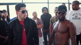 Vanilla Wafer vs Chocolate Droppa | Nick Jonas & Kevin Hart streaming