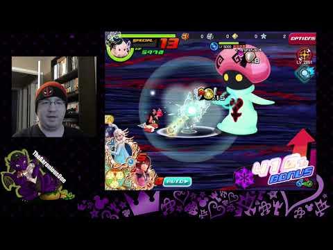 Kingdom Hearts Union X: Super Nova Terra, Ven, And Aqua Damage Showcase!
