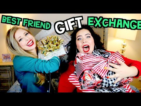 BEST FRIEND CHRISTMAS GIFT EXCHANGE!