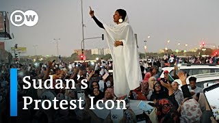 Sudan's 'Nubian Queen' becomes a protest icon | DW News