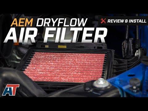 2009-2016 F150 AEM DryFlow Air Filter Review & Install
