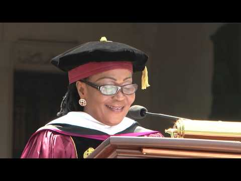 First Lady Speaks at the Fordham University USA 16th May 2015